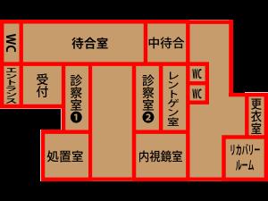 院内レイアウト図
